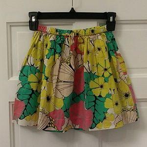Crewcuts girls print skirt
